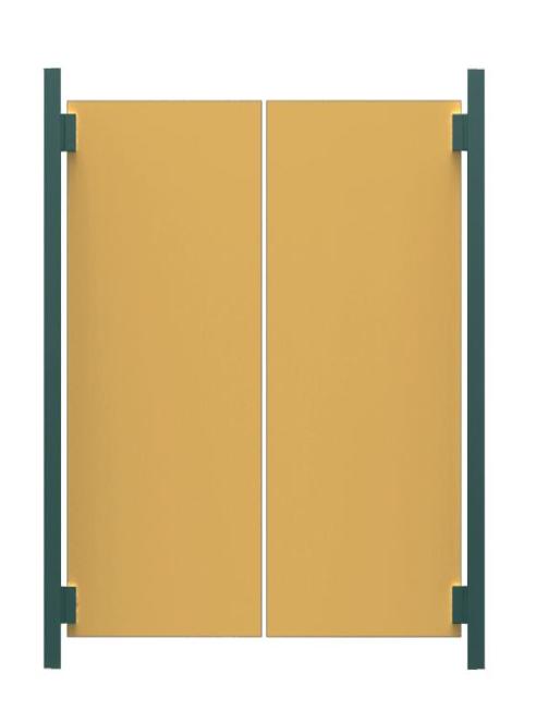 blocs portes western cloiso compact. Black Bedroom Furniture Sets. Home Design Ideas