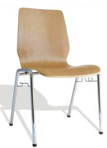 CHAISE ASSISE BOIS - CLOISO COMPACT