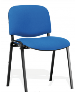 CHAISE ASSISE TISSUS - CLOISO COMPACT