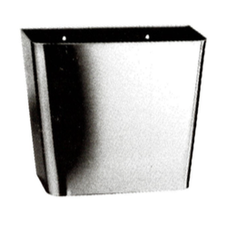 POUBELLE MURALE INOX TRAPEZOIDALE - CLOISO COMPACT