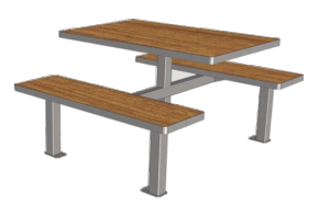 TABLE TA231CP4 - CLOISO COMPACT