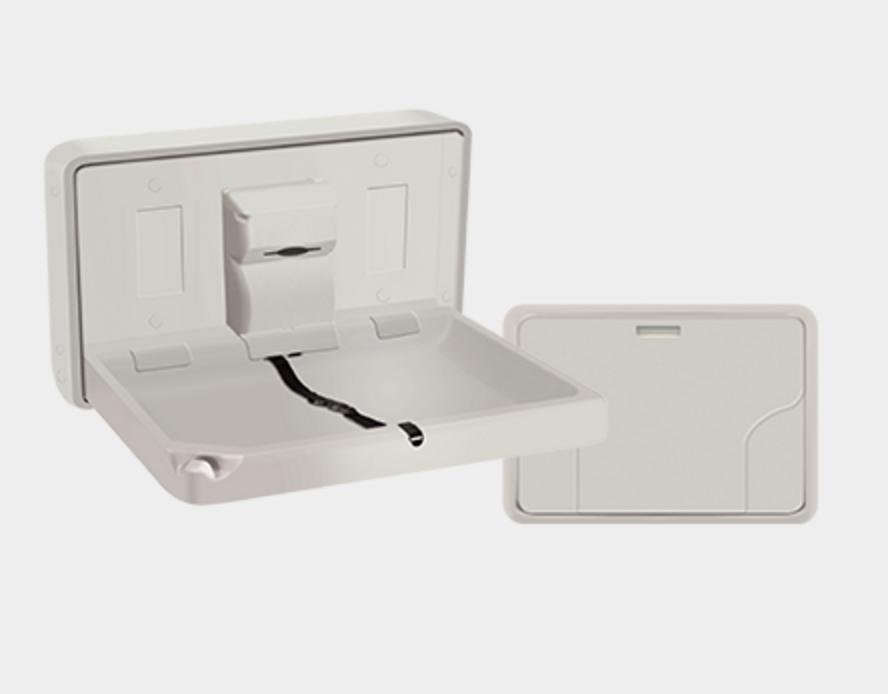 table a langer pliable horizontale pour vos espaces sanitaires. Black Bedroom Furniture Sets. Home Design Ideas